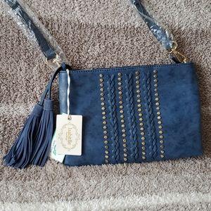 Isabella🆕 crossbody purse w/fringe NWT